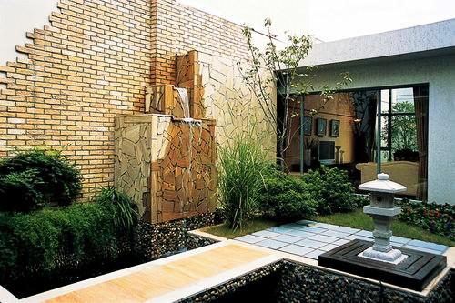 别墅庭院庭院设计施工:各式常用园林植物选择分析庭院题快别墅图片