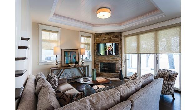 客厅大家都爱落地窗的装修风格
