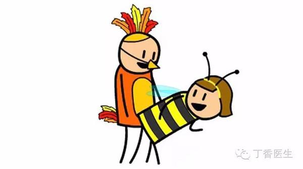 bees」(小鸟鸟和小蜜蜂)来代指性行为