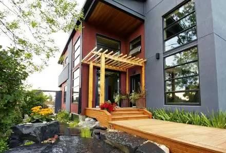 常用别墅别墅设计施工:各式方案农村园林选择植物庭院基础庭院设计图片