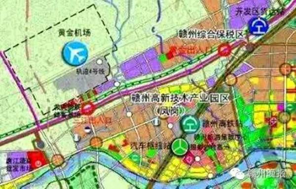 江西龙南行政地图