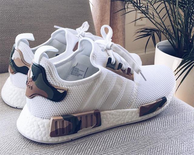 adidas NMD迷彩配色