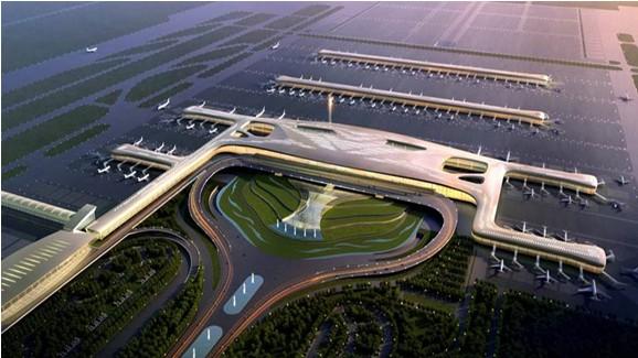 承建方中建三局基础设施公司介绍,天河机场t3航站楼主体结构已基本