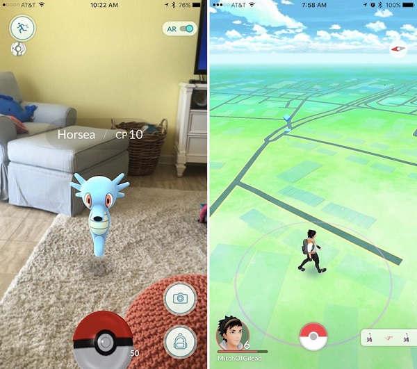 Pokemon Go很好,但你和精灵之间隔着手机屏幕 AR游戏 第6张