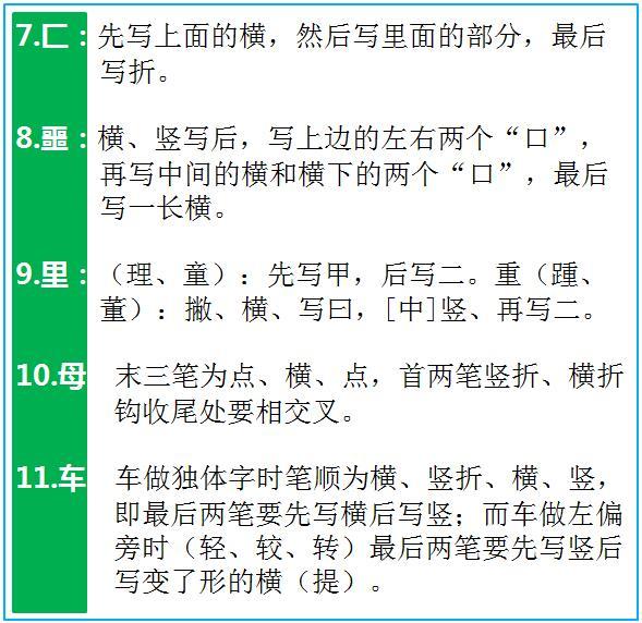 太棒了 7000个汉字的规范笔顺,全在这里