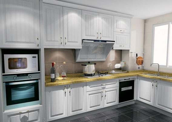 整体橱柜布局 选择适合自己的厨房设计图片