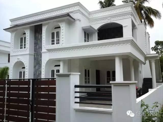 农村建房子 豪宅不装防盗栏 可别被骗了图片