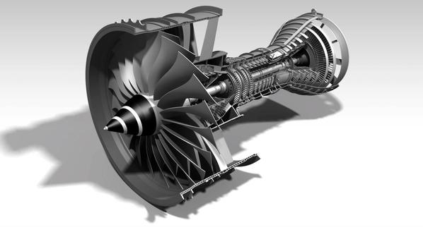涡轮发动机stl格式免费下载[3d打印模型]