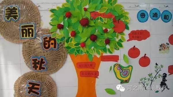 【园长篇】幼儿园秋季主题墙