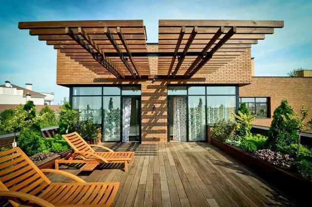 鉴赏国外那些超美的花园 露台设计