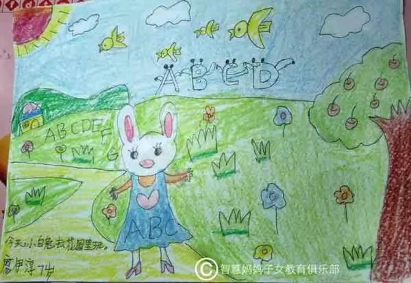 """""""我最爱的英文单词""""儿童创意绘画展-选出你最喜欢的小图片"""