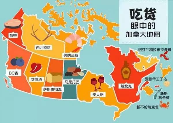 不同地域的人们的饮食-—用每个国家或地区的标志性食物拼出的地图.-吃货眼中的中国 原