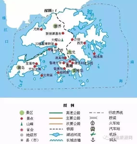 三,澳门旅游地图