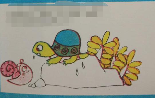 名师指点看图说话 小乌龟找家图片
