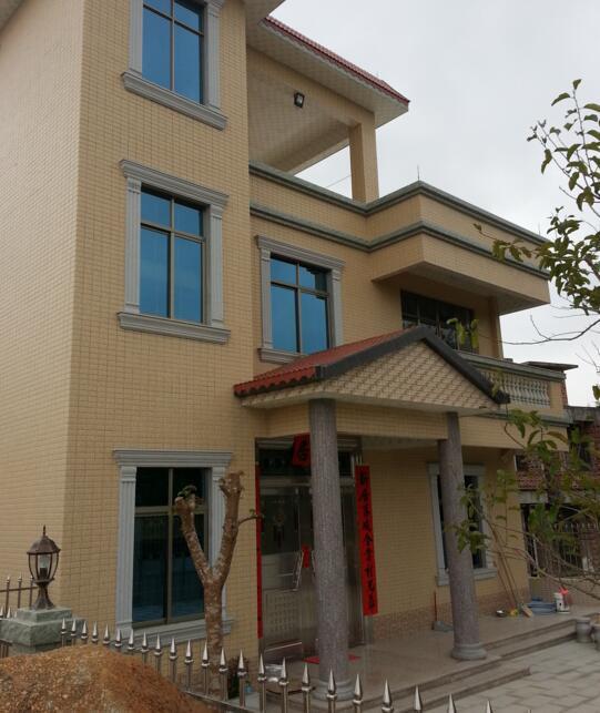 农村别墅设计指导施工及抗震保温新型房屋