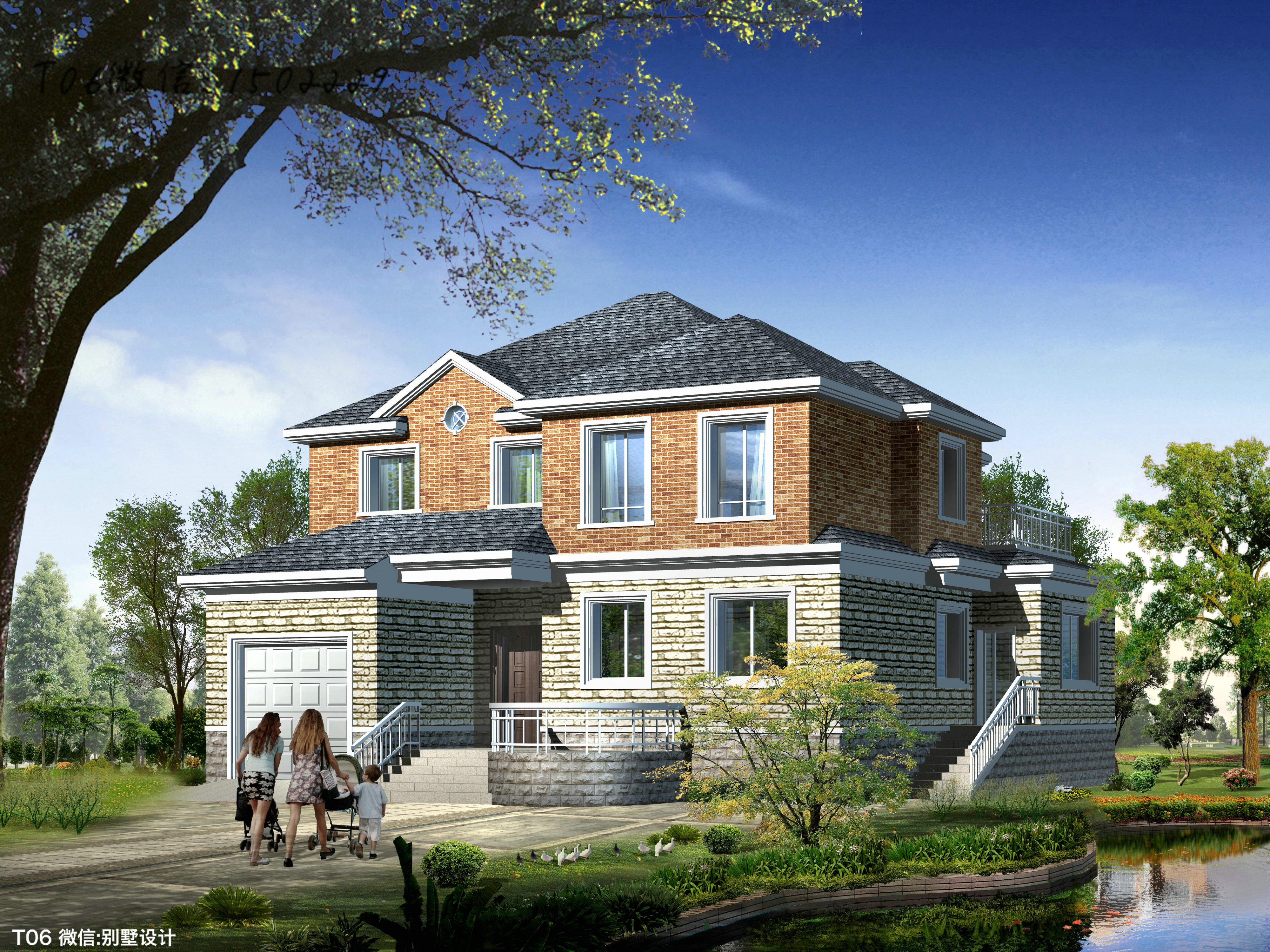 房设计图 两层住宅图集精选 小别墅图片新农村自建房设计图两层住宅图片