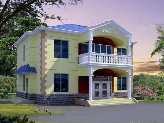 新农村自建房13.8x14.6米