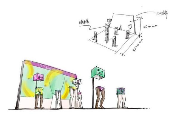 """""""故宫淘宝""""的车间手绘图 ▼ 这72个造物车间,有很多好玩的东西等你"""