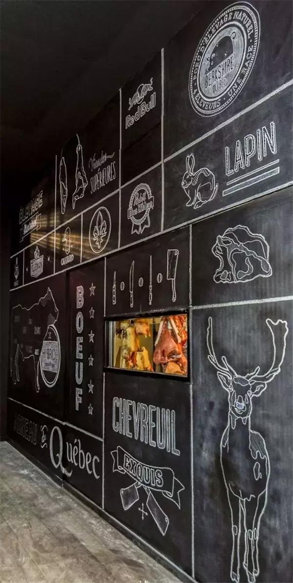 但现在,黑板已经不只应用于学校,更是出现在餐厅,公司,家里等场合图片