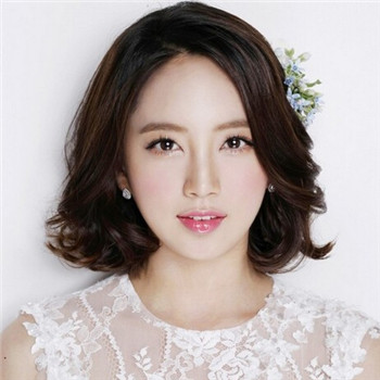 韩式唯美新娘妆造型图片