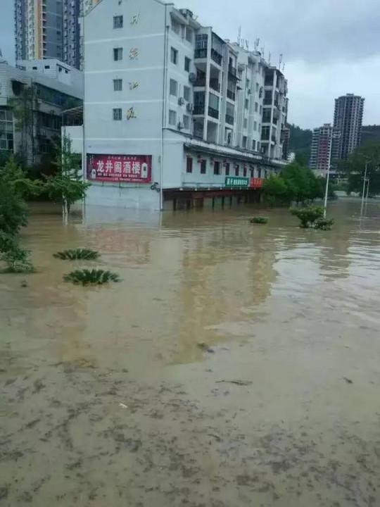 贵州.凯里.思南.印江.江口特大暴雨现场多地一片狼藉图片 87240 540x720