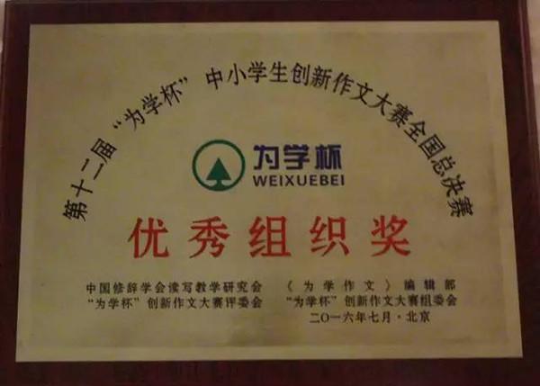 科技少年宫的中国小记者们参加全国作文总决赛荣获佳绩