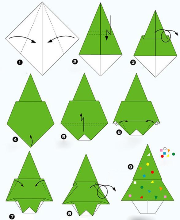 趣味折纸大全(各类花草树木飞禽走兽飞机轮船…),默默图片