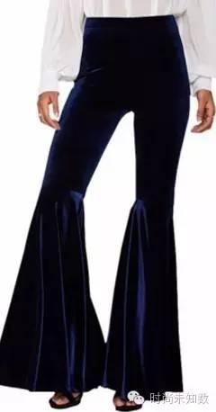 喇叭裤+女生不下一对!衬腿又细又长根本停天生大全衬衫手链图片