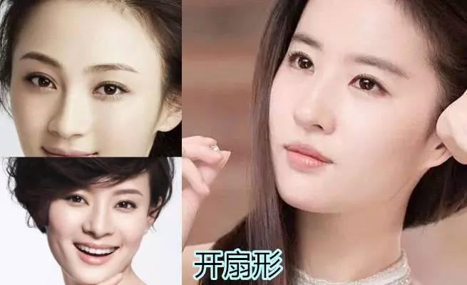 想拥有刘亦菲同款自然开扇?切开双眼皮时一刀切