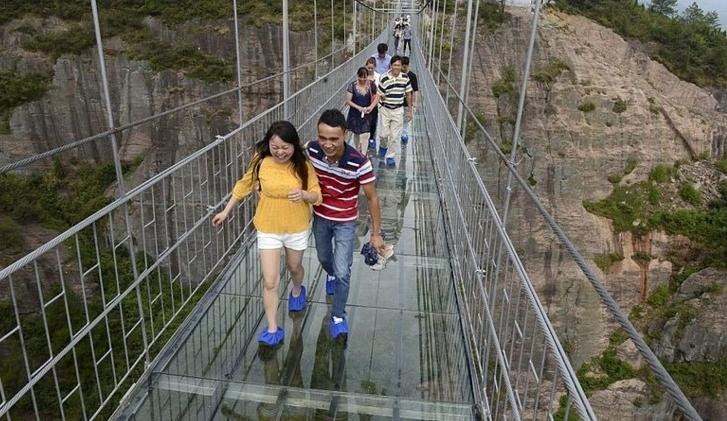 张家界v手机手机:张家界大峡谷攻略桥去孤玻璃攻略狼图片
