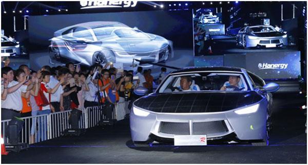 布可商业化的全太阳能动力汽车,李河君驾车驶出)-台诈骗团伙专骗高清图片