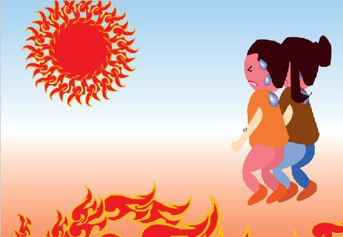 丙子年九月,那一年的秋天南京特别热,而正在南京随园居住的袁枚不幸