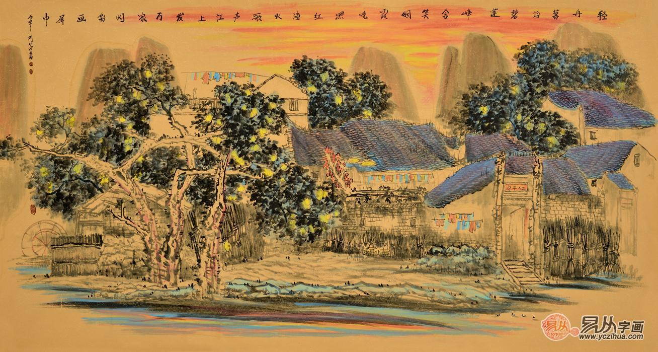 易从网独家专访当代女画家门丽萍,传承与创新