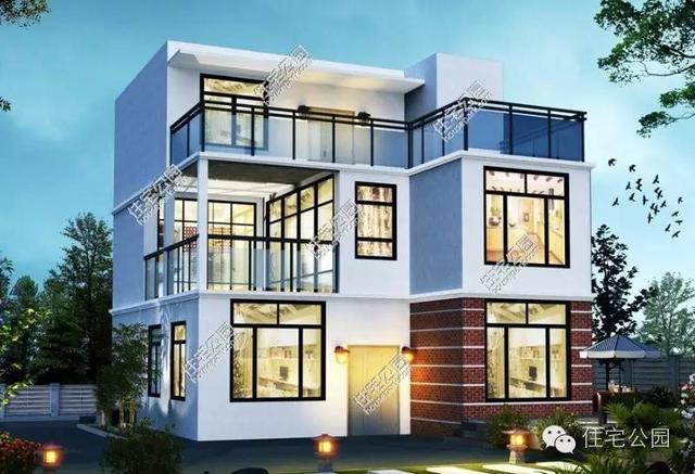 新农村自建房现代风格