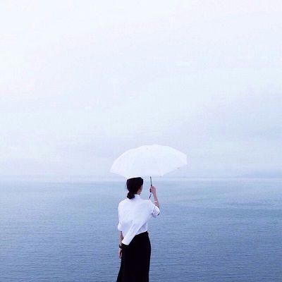 韩国男女背影头像 低调的沉默