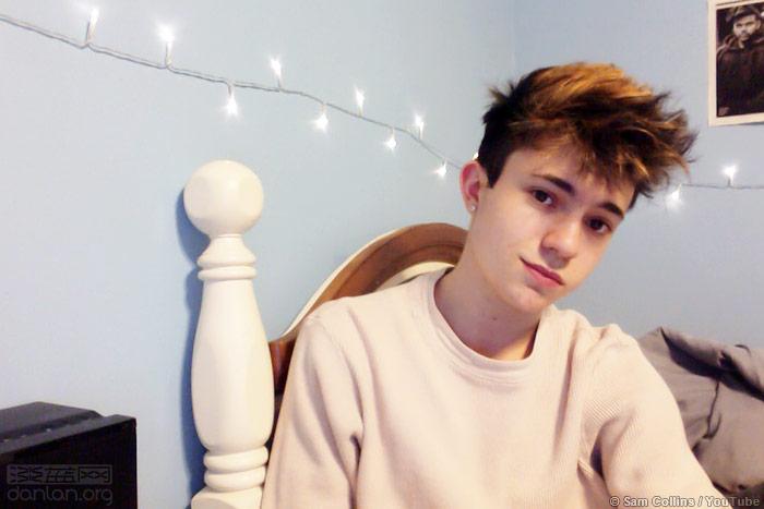 20岁网红出柜:我是变性男孩图片