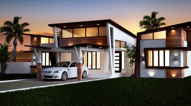 现代别墅是欧美现代主义流派