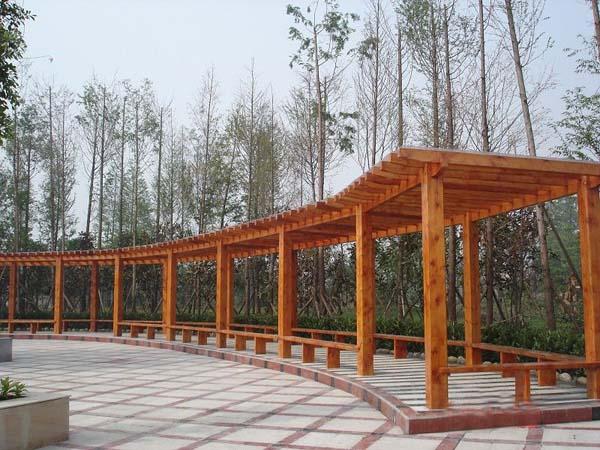 北京防腐木葡萄架-制作技巧