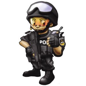 特警人物图片 动漫