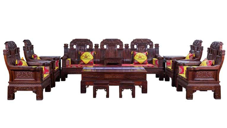 缅甸花梨沙发价格及选购技巧