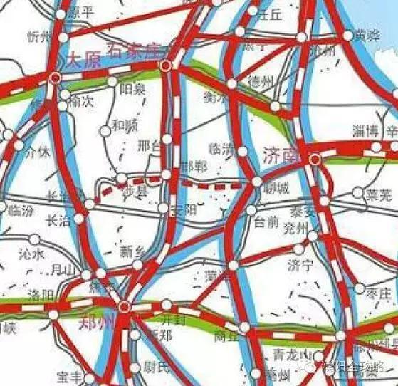 郑济高铁河南段通过环评,未来可延伸至青岛哈尔滨