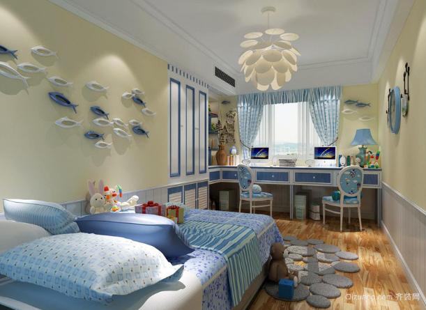 欧式风格的精致装修在儿童房方面也有体现