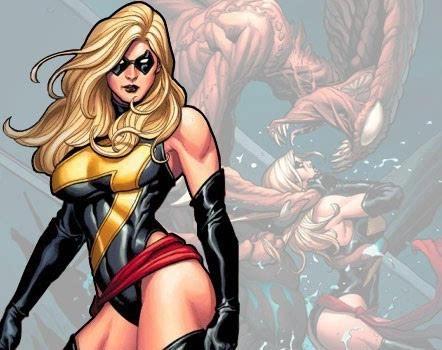 神奇女侠惊奇队长出击 漫画界迎来女英雄时代图片