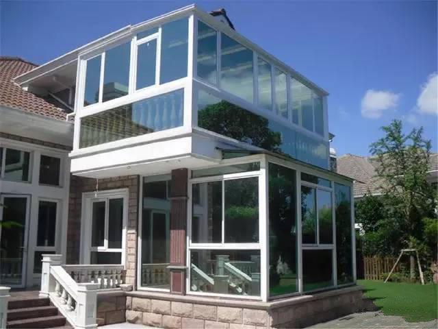 农村别墅砖装玻璃