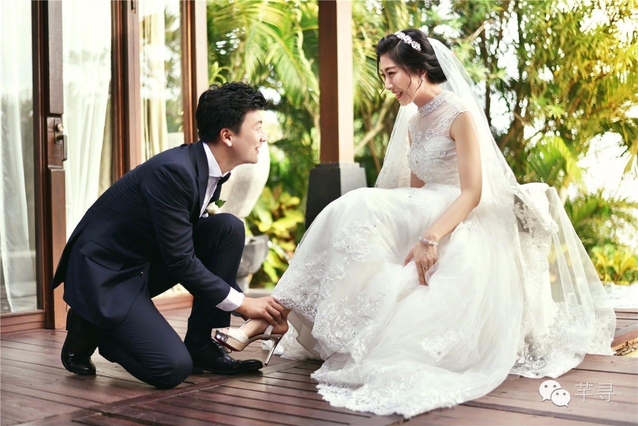 林心如霍建华同场地婚礼,芊寻巴厘岛婚礼关注开视频游戏挂图片