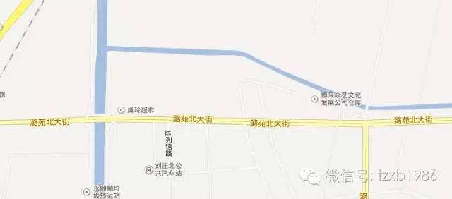 潞苑北大街西起通州区商务园,一路向东延伸,主要服务于商务园区,宋庄图片