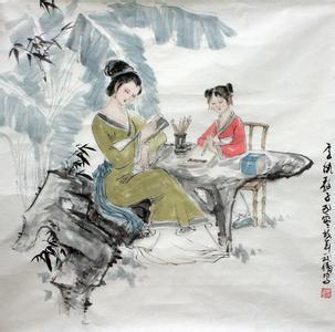 人生八雅 琴棋书画诗酒花茶