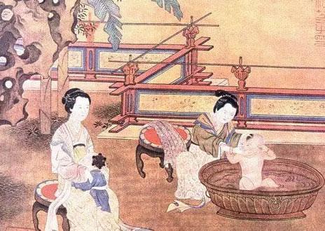 完全颠覆人们对古代美女沐浴的美好遐想.难道古人真的就这么洗澡吗?