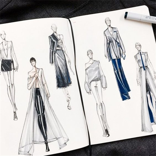 How to draw fashion clothing 27