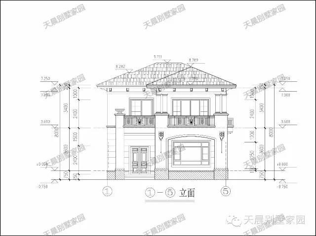 两层别墅设计图!